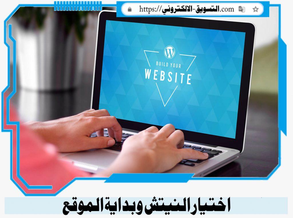 التسويق الالكتروني باختيار النيتش و بداية الموقع, التسويق الالكتروني