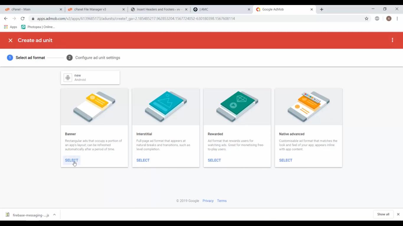 خدمات بناء التطبيقات الأندرويد والأد موب, التسويق الالكتروني