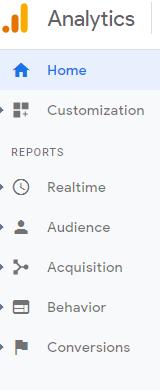 جوجل اناليتكس, التسويق الالكتروني